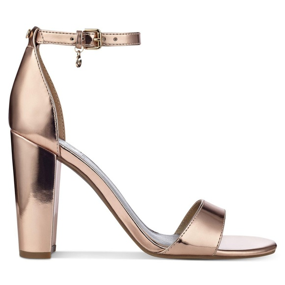 bed67a89132 G by Guess Shoes - G By Guess Shantel Two-Piece Block Heel Pumps